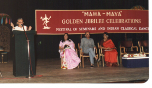 Mamata and the other guests at the inauguration of the golden jubilee celebrations